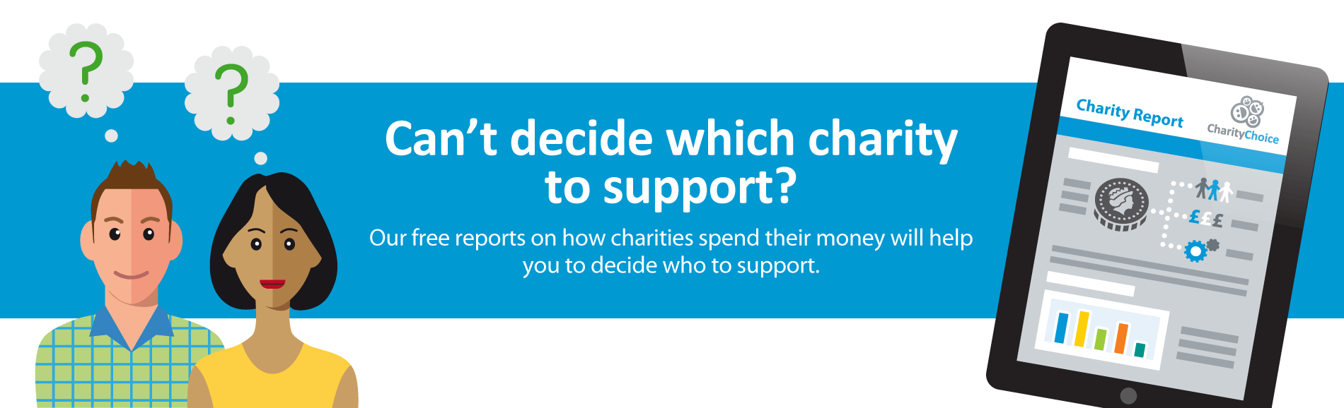 Can't decide which charity to support? Try our reports
