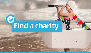 Find a charity to fundraise for