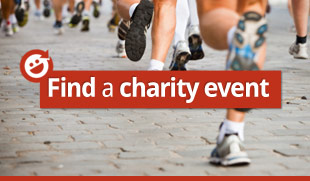 Find an event to fundraise through