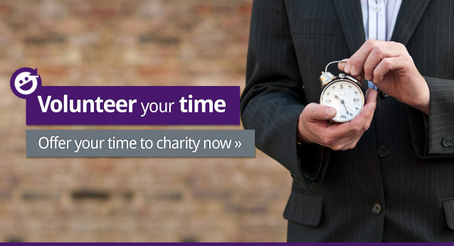 Volunteer your time. Offer your time to charity now