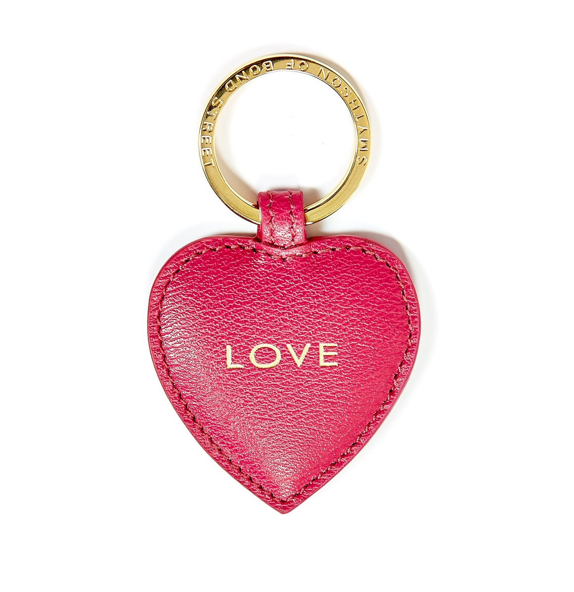 Breast Cancer charity Smythson love heart keyring.jpg