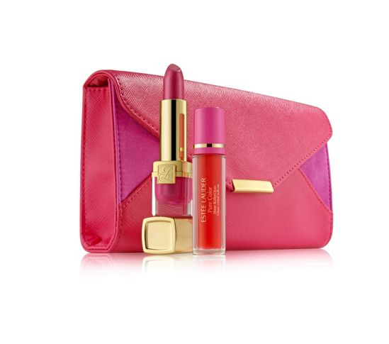 Breast Cancer charity pink Estee Lauder set.jpg