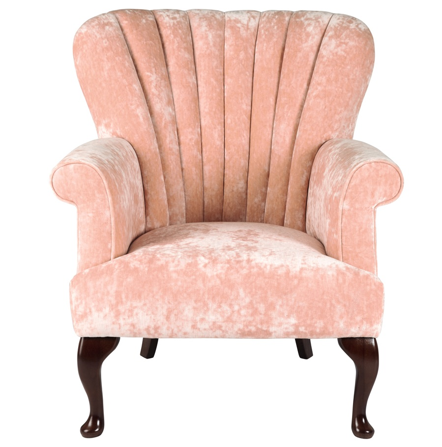 Breast Cancer charity pink armchair Laura Ashley.jpg