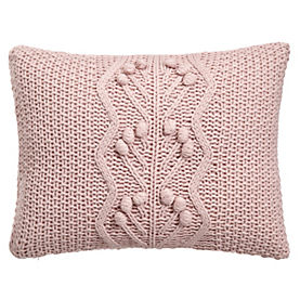 Breast Cancer charity pink bobble cushion.jpg