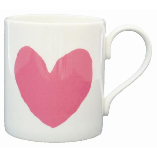Breast Cancer charity pink heart mug.JPG