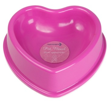 Breast Cancer charity pink heart pet bowl.jpg