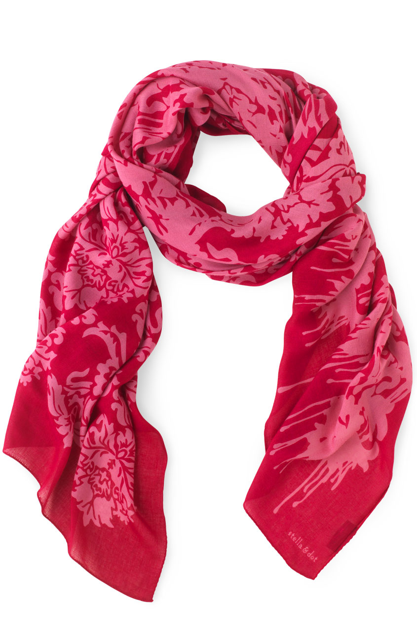 Breast Cancer charity pink scarf Stella Dot.jpg
