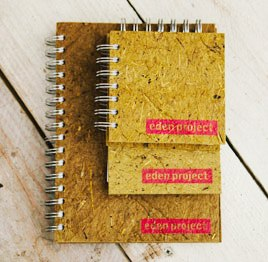Eden project recycled straw notebook.jpg