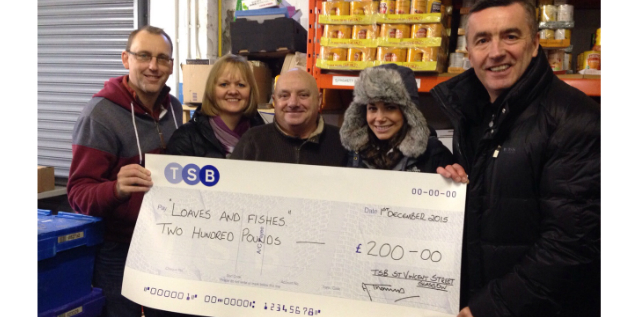 TSB local charity partnership