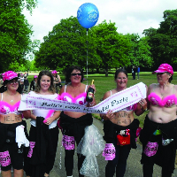 Moon Walking for Breast Cancer