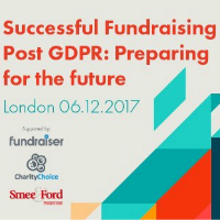 Book your place - 'Successful Fundraising Post GDPR: Preparing for the future'