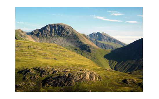 Great Gable, one of the 24 peaks.