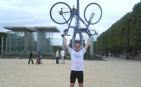 Bristol to Paris Cycle Challenge