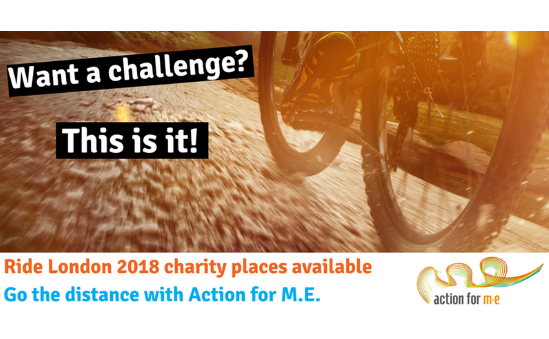 Join Team Action for M.E. for the Ride London 2018