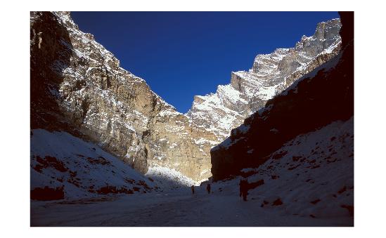 Himalayan scene