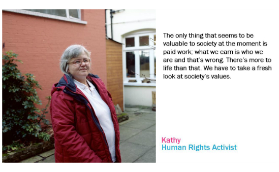 Kathy, Human Rights Activist from the Roles We Play Project