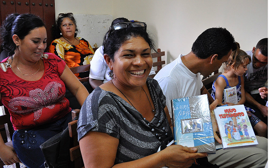 Twinning your Bible with a Bible in Cuba will cost just £5