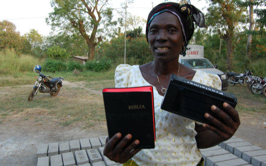 Twinning your Bible with a Bible in Togo will cost £18