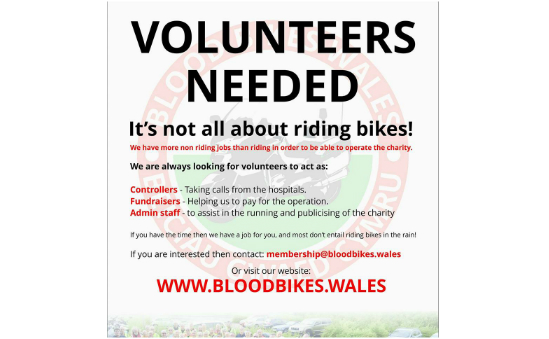 Blood Bikes Wales profile image 1