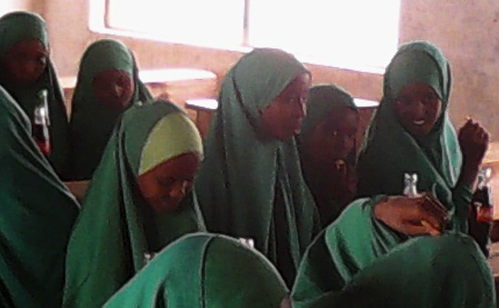 Orphan Girls at Elwak Primary School Students