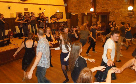 Ceilidh on January 1st