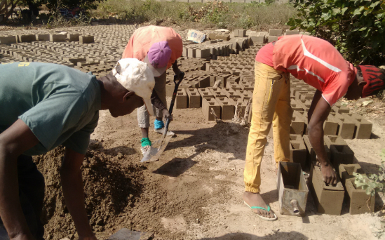 SOW Students working on the foundations