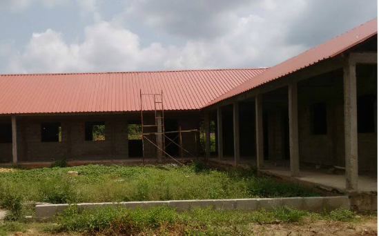 Phase 1 has delivered the classroom block