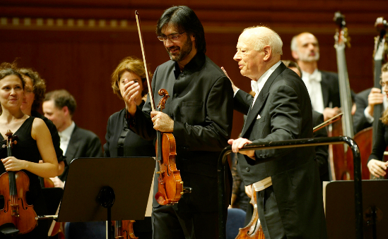 The COE, Leonidas Kavakos and Bernard Haitink at Lucerne Easter Festival 2011