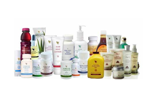 Lots of Aloe Vera products to choose from!