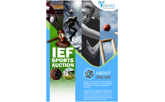 IEF Sports Auction