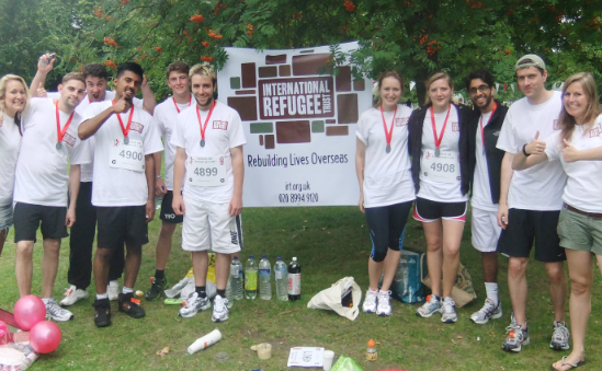 The IRT team last year. Sign up and be part of the fun in 2012!