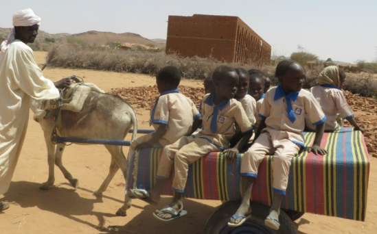 The school bus in Darfur