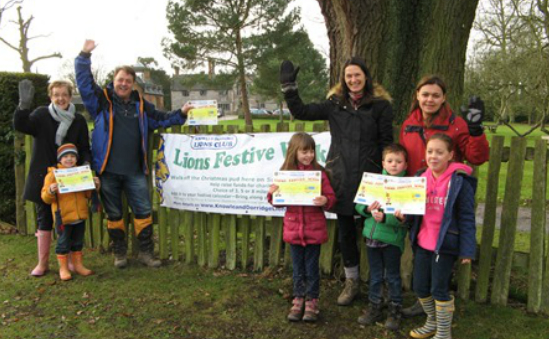 Fundraisers show off certificates of achievement