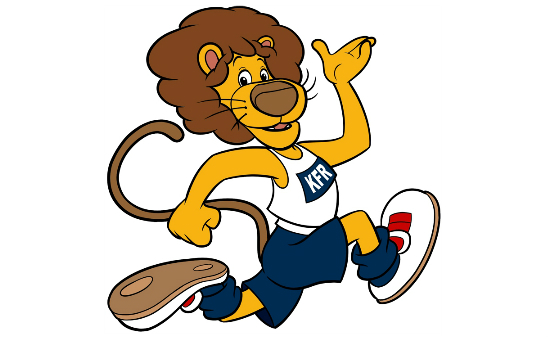The Running Lion