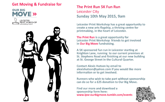 Get moving and fundraise for Print Run