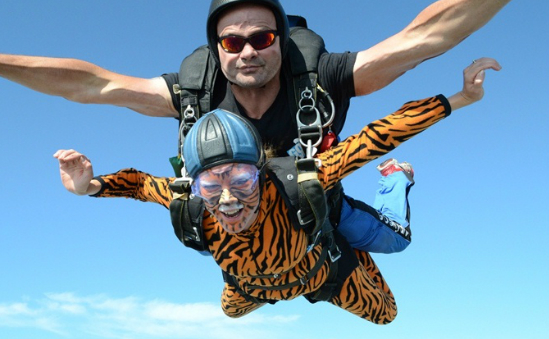 Tiger Tanya's SkyDive in 2013