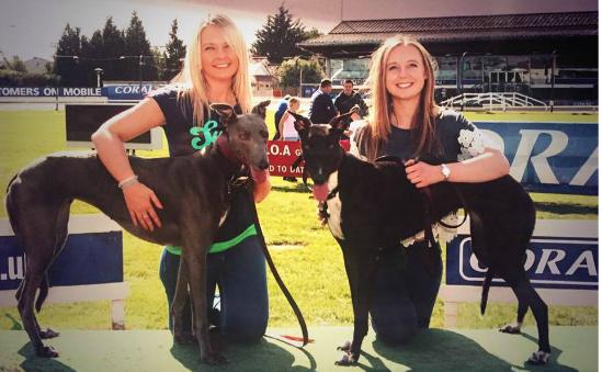 Livi & Bethia with Elsa & Milli