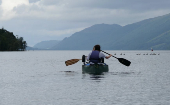 Great Glen Canoe Trip