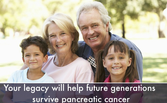- Leave a Gift to Pancreatic Cancer Action - image