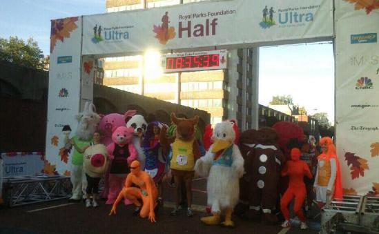 The mascots