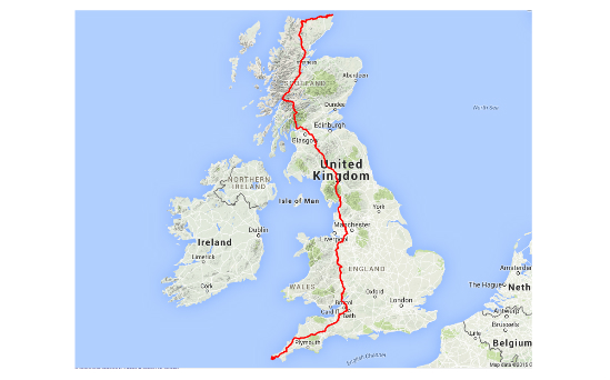 rhl - Lands End to John O'Groats cycle ride - image 2