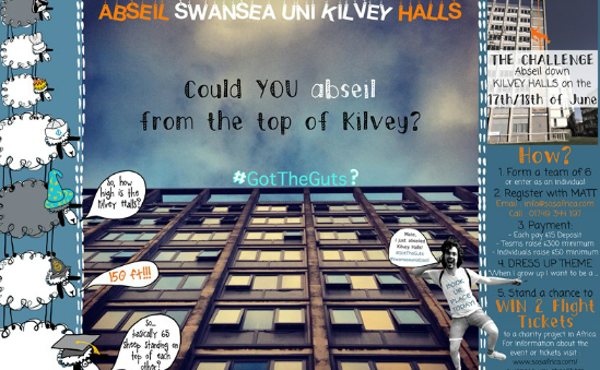 150ft Charity Abseil