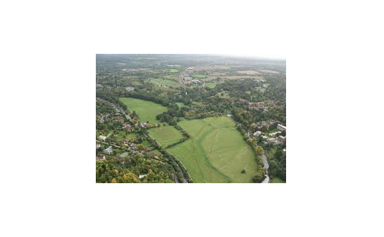 Shalford Park from the sky