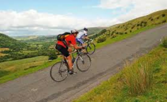 Cycling the toughest inclines in the UK