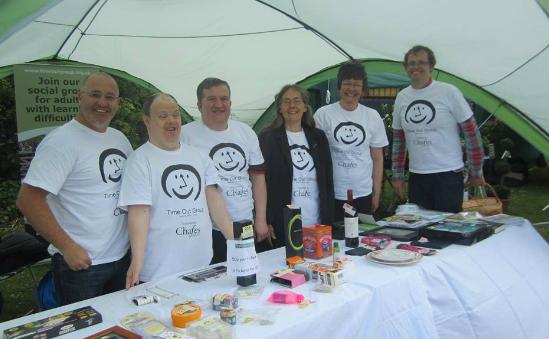Stall at the Alderley Edge Fair