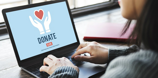 Online donations, Jennifer Corfield,  focusgov