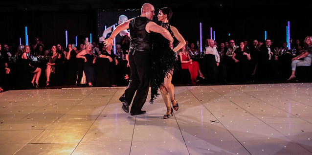 The Prince & Princess of Wales Hospice in Glasgow , Strictly Come Dancing