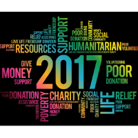 What will be the fundraising watchword of 2017?