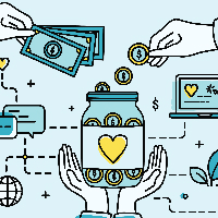 Social fundraising: what makes a successful campaign?