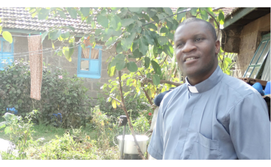 With your support Fr Francis Makuba HMH provides help and hope to his parishioners in Nairobi